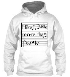 I like Music more than People!
