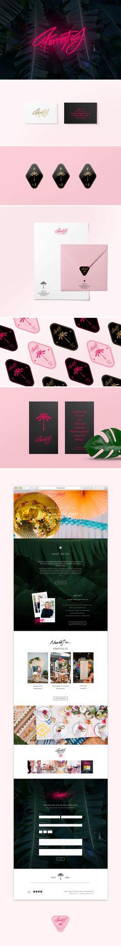 New in Portfolio: Forrest & J. Brand Identity – Cocorrina