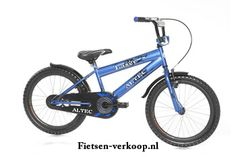 Jongensfiets Altec Laser Blauw 20 Inch | bestel gemakkelijk online op Fietsen-verkoop.nl