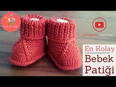 # 41 Best Child Booties Mannequin - Knitting Patterns / Knitted Child Boots - Baby And Women Baby Knitting Patterns, Knitting For Kids, Knitting Designs, Knitted Baby Boots, Knitted Booties, Gestrickte Booties, Baby Boy Booties, Diy Bebe, Baby Design