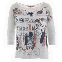 This gorgeous print shirt is a must have for all fashion loving ladies