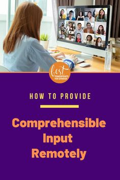 Wondering how to provide comprehensible input remotely in your World Language class? Some exemplary teachers who rock at distance learning share 8 strategies you can implement in your classes immediately. There are examples for synchronous as well as asynchronous teaching. I had never heard of some of these and they are so creative! Check them out! #spanishonline #distancelearning #comprehensibleinput Spanish Online, Ap Spanish, Spanish Lessons, Teaching Spanish, Spanish Class, Comprehensible Input, Instructional Strategies, French Teacher, Grammar And Vocabulary