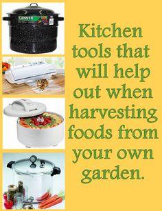 RHGS Outdoor & Gardening Blog: Harvest Time  #gardening #kitchen