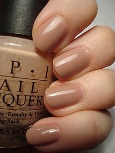Perfect Nude polish. OPI- Tickle Me France-y.  It has a tinch more lavender than this picture shows.  My go-to natural look nail polish.