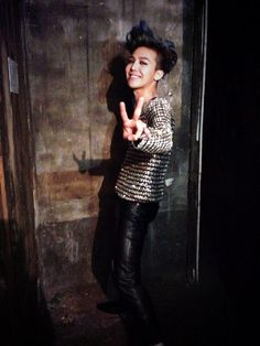 GDragon with his beautiful smile