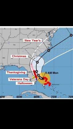 Hurricane Dorian 2019 Florida Humor, Florida Funny, Map, Location Map, Maps