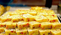 Shahi burfi! get this traditional #IndianSweet made up of roasted nuts & make your #weekend #royal :) www.mmmithaiwala.com
