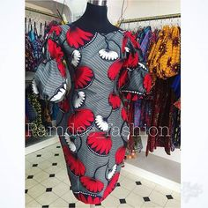 Sold out Issa pencil dress with a double puff sleeve Also available in other prints Contact us: 0501099346