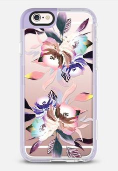 Casetify iPhone 7 Case and Other iPhone Covers - Summer Nights Watercolor Floral iPhone 6s Case by Ruby Ridge Studios | #Casetify