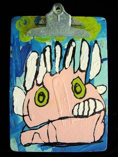 """Hand Puppet""  By Goodwill Art Studio & Gallery artists, Steven Behner and Mickey DeBardeleban"