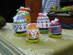 Embroidered Easter Eggs from Poland