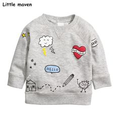 Toddler Kids Boys Girls Top Tshirt Long Sleeve Shirt Striped Cloud Rainbow Print O-Neck Blouses Tee Clothes
