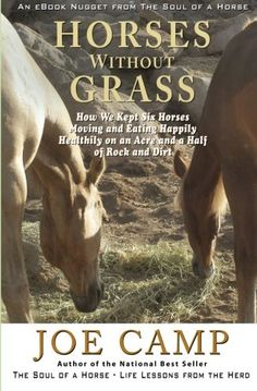 Horses Without Grass: How We Kept Six Horses Moving and eating Happily Healthily on an Acre and a Half of Rock and Dirt: An eBook Nugget from The Soul of a Horse - Vol 2 (Volume 2) by Joe Camp http://www.amazon.com/dp/1930681402/ref=cm_sw_r_pi_dp_EDsiwb1043A5V
