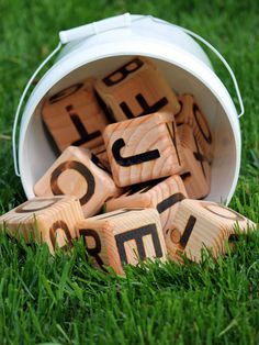 Pic-a-Word Letter Yard Dice Game by PicaNickandMore on Etsy