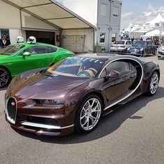 Brown Carbon Bugatti Chiron