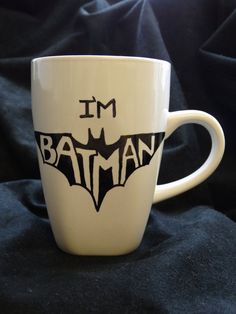 I'm Batman by LynneCorner on Etsy, $8.00