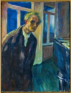 Edvard Munch: The Night Wanderer, Oil on canvas (1923)