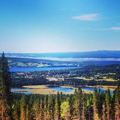 Utsikt från Frösön, Sweden Lappland, City Landscape, Peace Of Mind, Finland, Denmark, Norway, Roots, Cities, Places