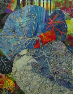 If Leaves Were Blue by Priscilla Kibbee: Schweinfurth Art Show 2011 Priscillakibbee.com