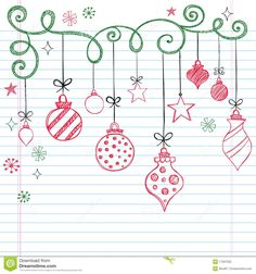 Hand-Drawn Sketchy Doodle Christmas Ornament - Download From Over 38 Million High Quality Stock Photos, Images, Vectors. Sign up for FREE today. Image: 17267552