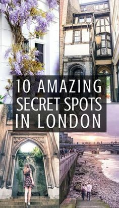 10 quirky, offbeat and unusual secret spots in London you'll fall in love with! London, England