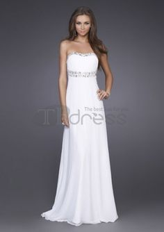 Fantastic A-Line Sweetheart Chiffon Charmeuse Long Evening Dresses