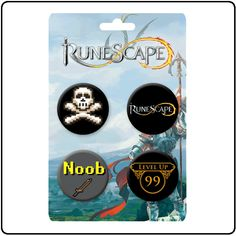 RuneScape - Runescape Badge Set