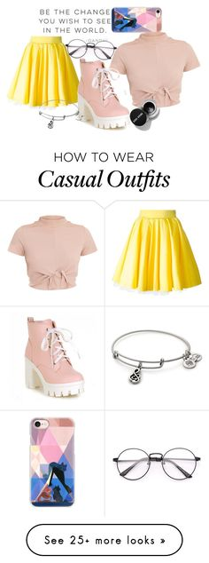 """""""summer - casual ∆"""" by ginasfashionboutique on Polyvore featuring Alo Yoga, Casetify and Philipp Plein"""