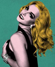 Britney Spears pop art!