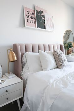 28 popular small master bedroom makeover ideas 25 ~ Home And Garden Small Master Bedroom, Master Bedroom Makeover, Home Bedroom, Modern Bedroom, Bedroom Ideas, 1980s Bedroom, Apartment Bedroom Decor, Queen Bedroom, Bedroom Pictures