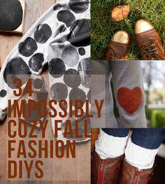 34 Fall Fashion DIYs That Are Incredibly Easy