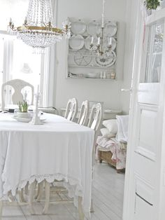♕ Swedish dining room <3