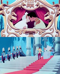 Cinderella's happily ever after.