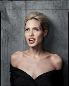 Angelina Jolie by Dan Winters