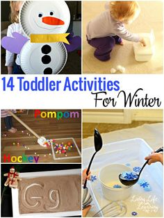 Are your children climbing the walls? These toddler activities for winter are a wonderful way to spend time indoors while it's chilly outside.
