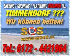 Ehering / Goldring / Platinring oder sonstigen Schmuck in Timmendorf Ostsee verloren?Wir helfen Ihnen...Fragen Sie uns einfach danach unter Telefon: 0172 - 442 1964