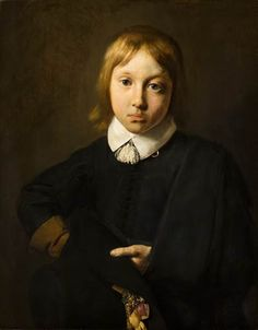 Jan de Bray, Portrait of a Boy, Aged Six, 1654 - Mauritshuis The Hague