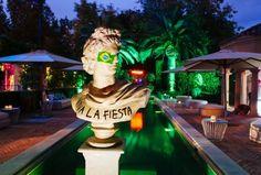 Viva La Fiesta by @azbcreative Lighting Design, Statue Of Liberty, Party, Light Design, Statue Of Liberty Facts, Statue Of Libery