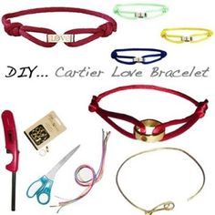 Lots and lots of DIY bracelets here.