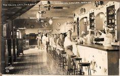 the cavern cafe - nogales, sonora, mexico