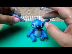 stitch in fondant tutorial - YouTube