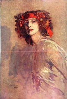 john lavery, anna pavlova, ca. 1910