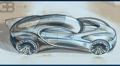 Bugatti Vision GT Type-6 concept on Behance