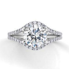 Danhov Eleganza Split Shank Engagement Ring ZE106