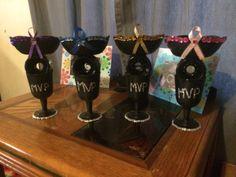 MVP awards Cancer awareness Roller Derby bout