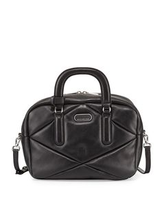 V23RX MARC by Marc Jacobs Turn Around Leather Satchel Bag, Black
