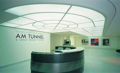 """The Contemporary Art Gallery """"Am Tunnel"""" houses an impressive collection of visual arts, the vast majority of which are the work Edward Steichen, Fortification, Media Center, Contemporary Art, Photo Galleries, Art Gallery, Ceiling Lights, Contemporary, Luxembourg"""