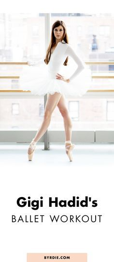 The ballet workout that Gigi Hadid swears by Mary Helen Bowers, founder of Ballet Beautiful, breaks down how to have lean legs in 6 easy moves Ballerina Workout, Ballet Barre Workout, Ballerina Diet, Barre Workouts, Dancer Body Workouts, Ballet Diet, Ballerina Body, Dancer Workout, Model Workout