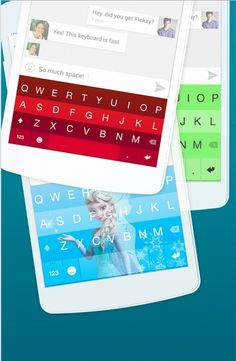 Cool keyboard apps: Fleksy keyboard app for iOS and Android