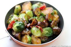 Brussels Sprouts with Chestnuts Recipe